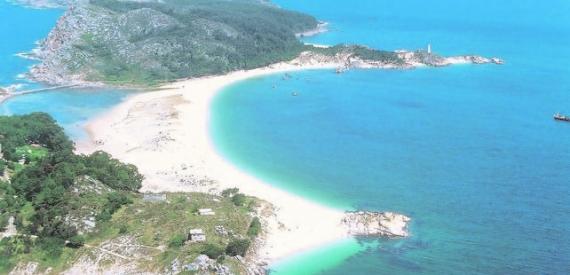 Playa de Rodas, Galicia