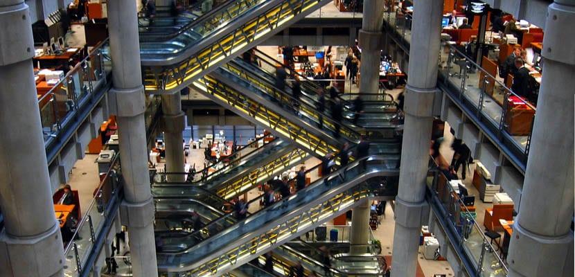 Interior del edificio Lloyds