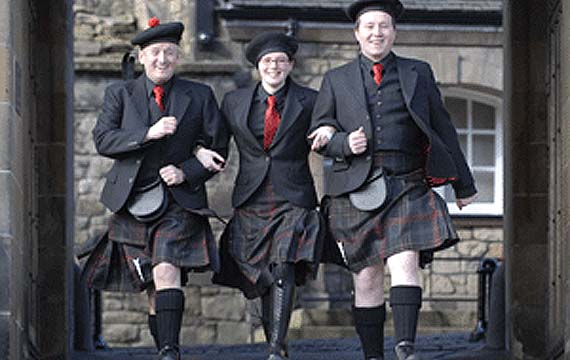 Así son los kilt tradicionales que podemos comprar en Geoffrey Kiltmakers