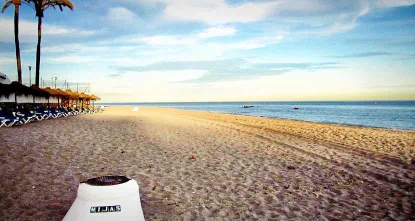 La mejor playa de mijas