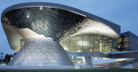 Dos modernas construcciones de munich for Construcciones modernas