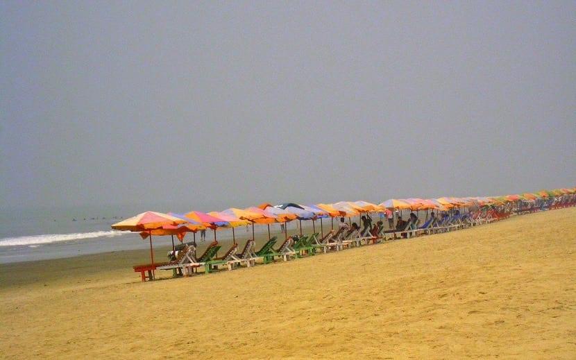 Playa Cox Bazar en Bangladesh