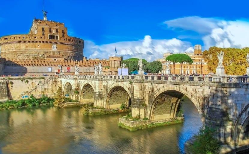 Viaje barato a roma