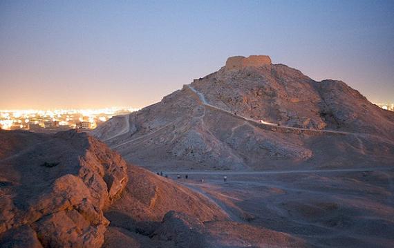 Las Torres del Silencio en Yazd, Irán