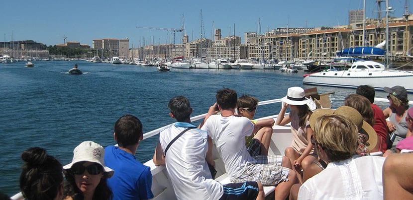 botes en Marsella