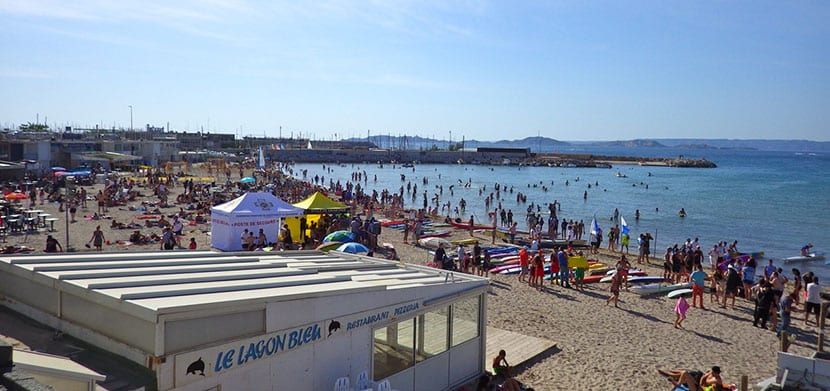 Mejores playas de Marsella