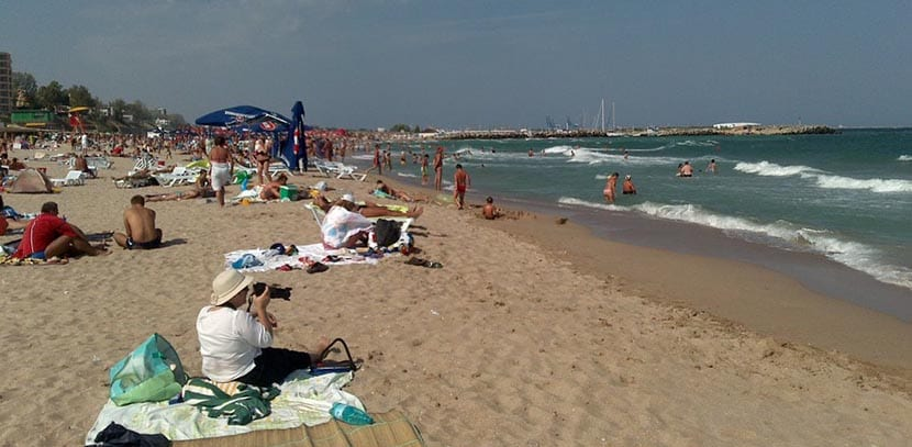 playa eforie rumania