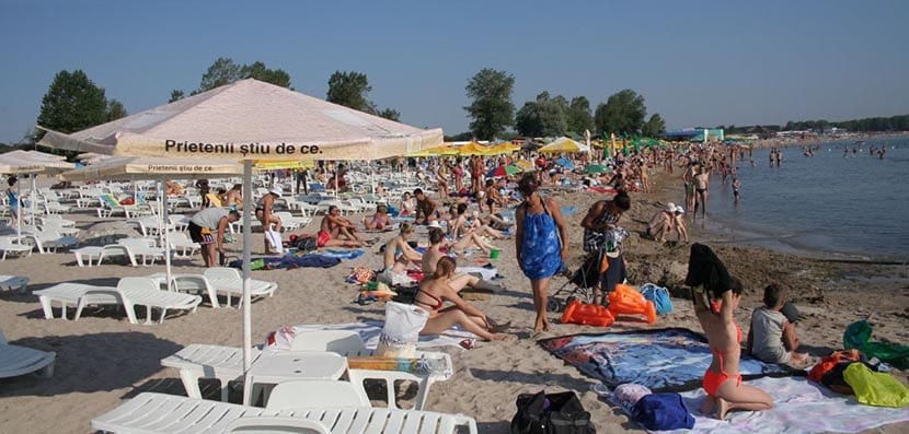 playas mar negro rumania