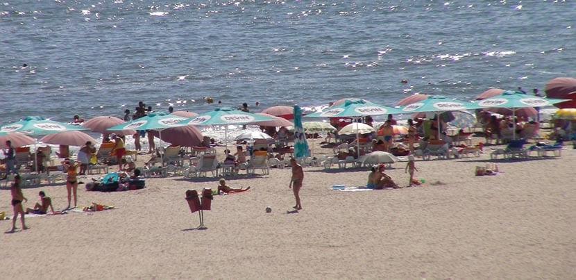 playa mamaia en rumania