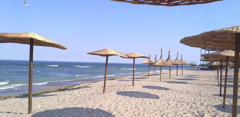 playas mar negro rumania
