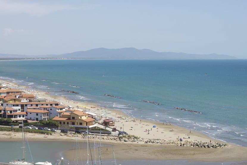 playas toscana Castiglione della Pescaia