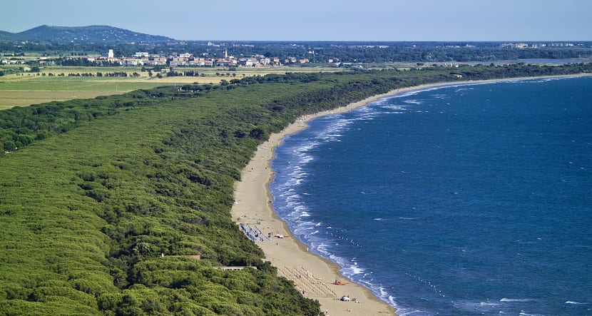 playas toscana talamona