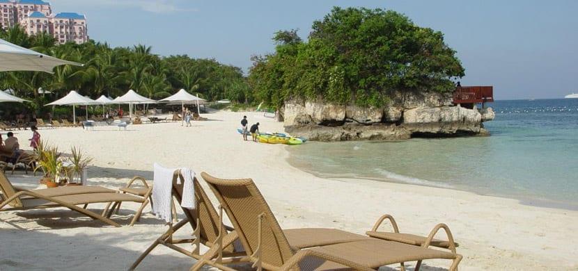 Playa de Isla Mactan