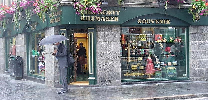 Tienda de Alex Scott en Aberdeen
