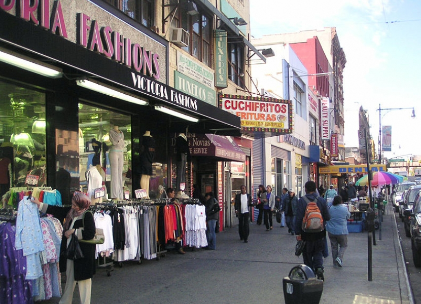 Compras en Harlem