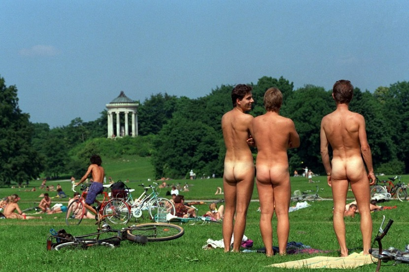 Los parques nudistas del Englischer Garten de Munich