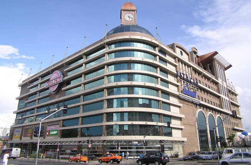 Centro Comercial Estação en Curitiba