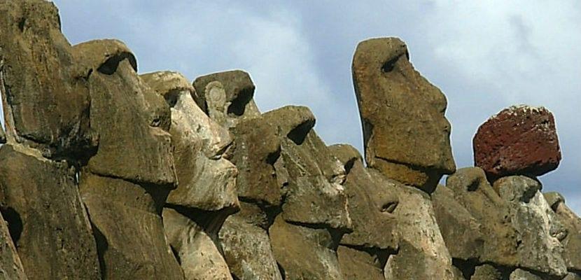 Estatuas Isla de Pascua