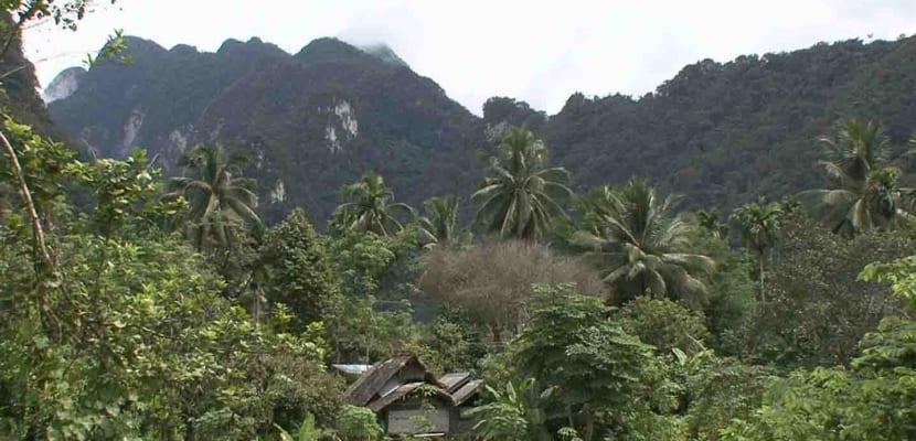 Parque Nacional Khao Sok en Tailandia