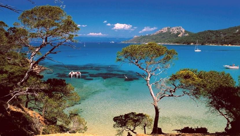 Porquerolles Costa Azul Francia