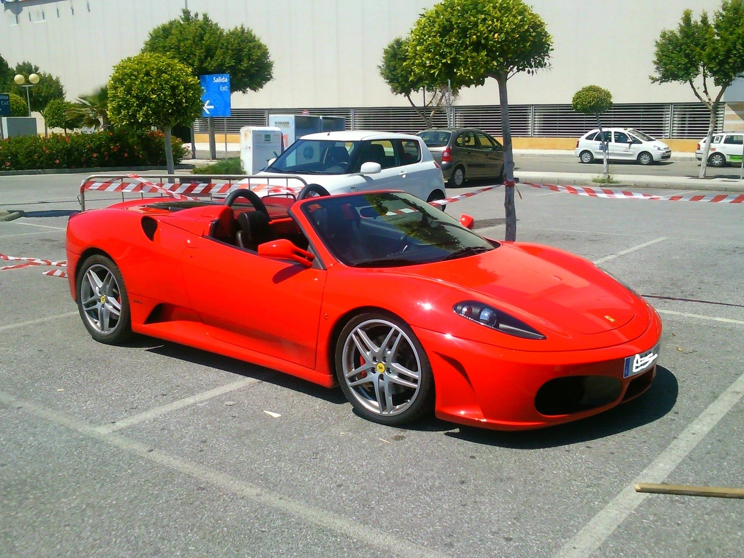 Ferrari de alquiler