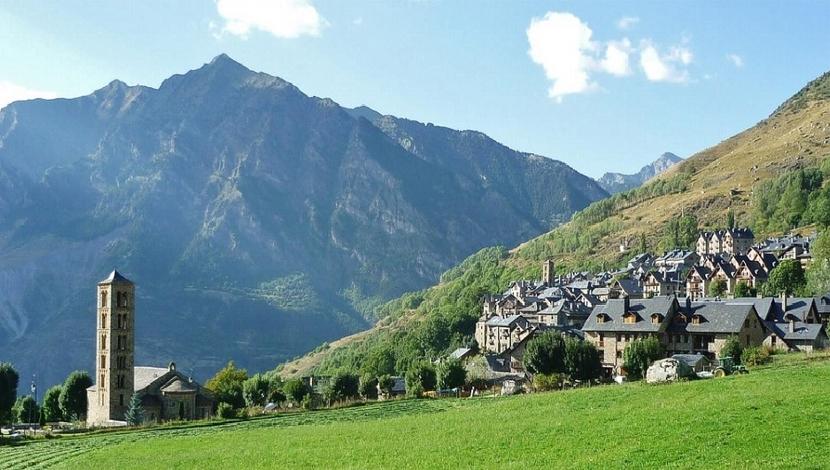 Valle de Bohí Lérida España