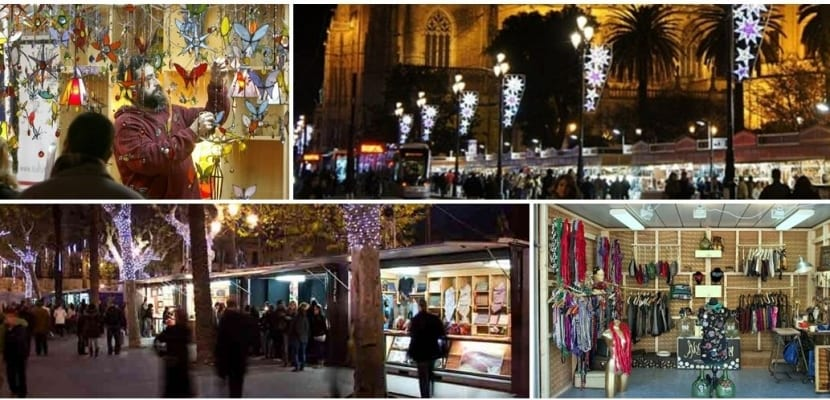 Mercado Navidad Plaza Nueva en Sevilla