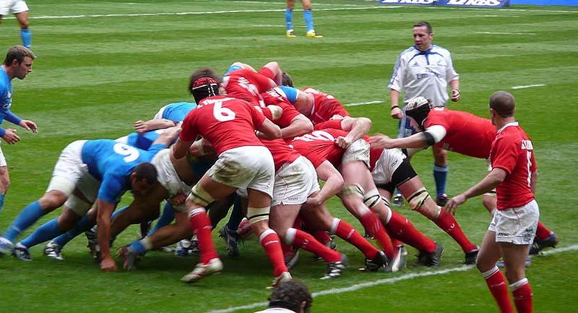 El rugby, uno de los deportes preferidos de Gales