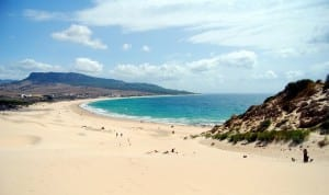 Playa naturista andaluza