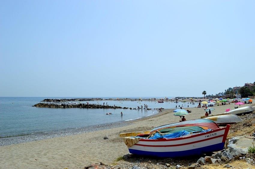 Playa naturista de marbella