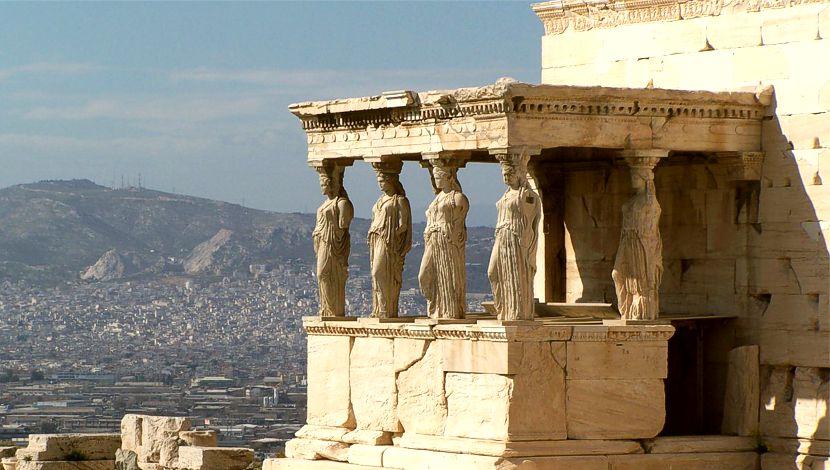 Erecteión Acrópolis Atenas