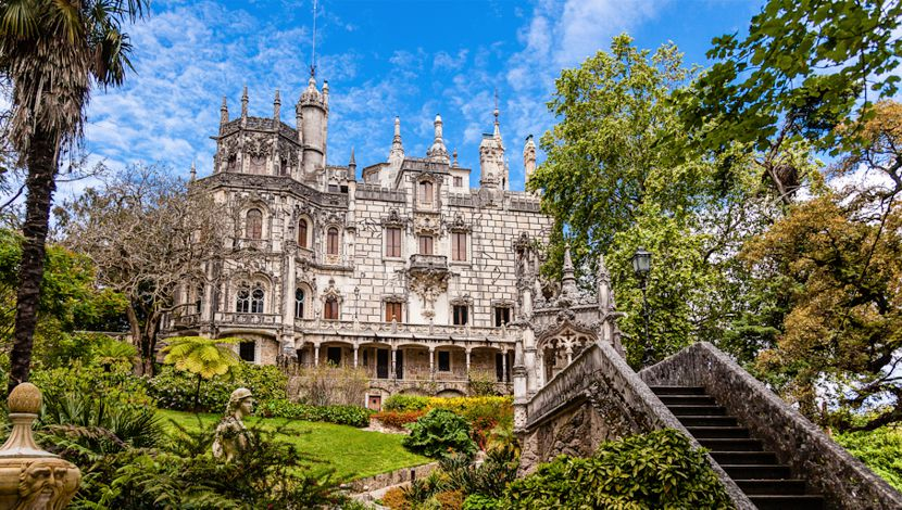 Quinta Regaleira Sintra Portugal