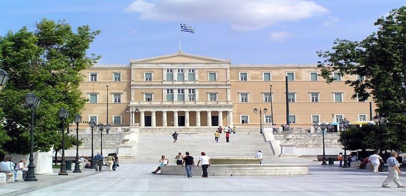 plaza syntagma atenas