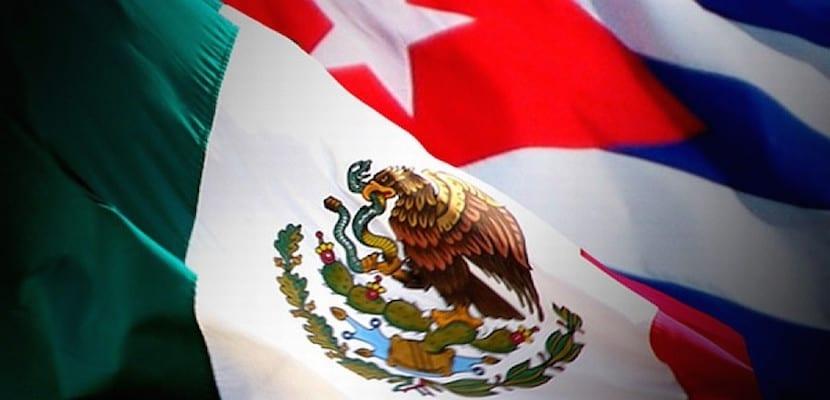 bandera mexico-cuba