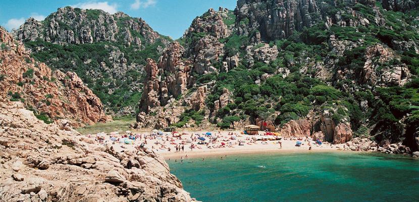 Costa paradiso en Cerdeña
