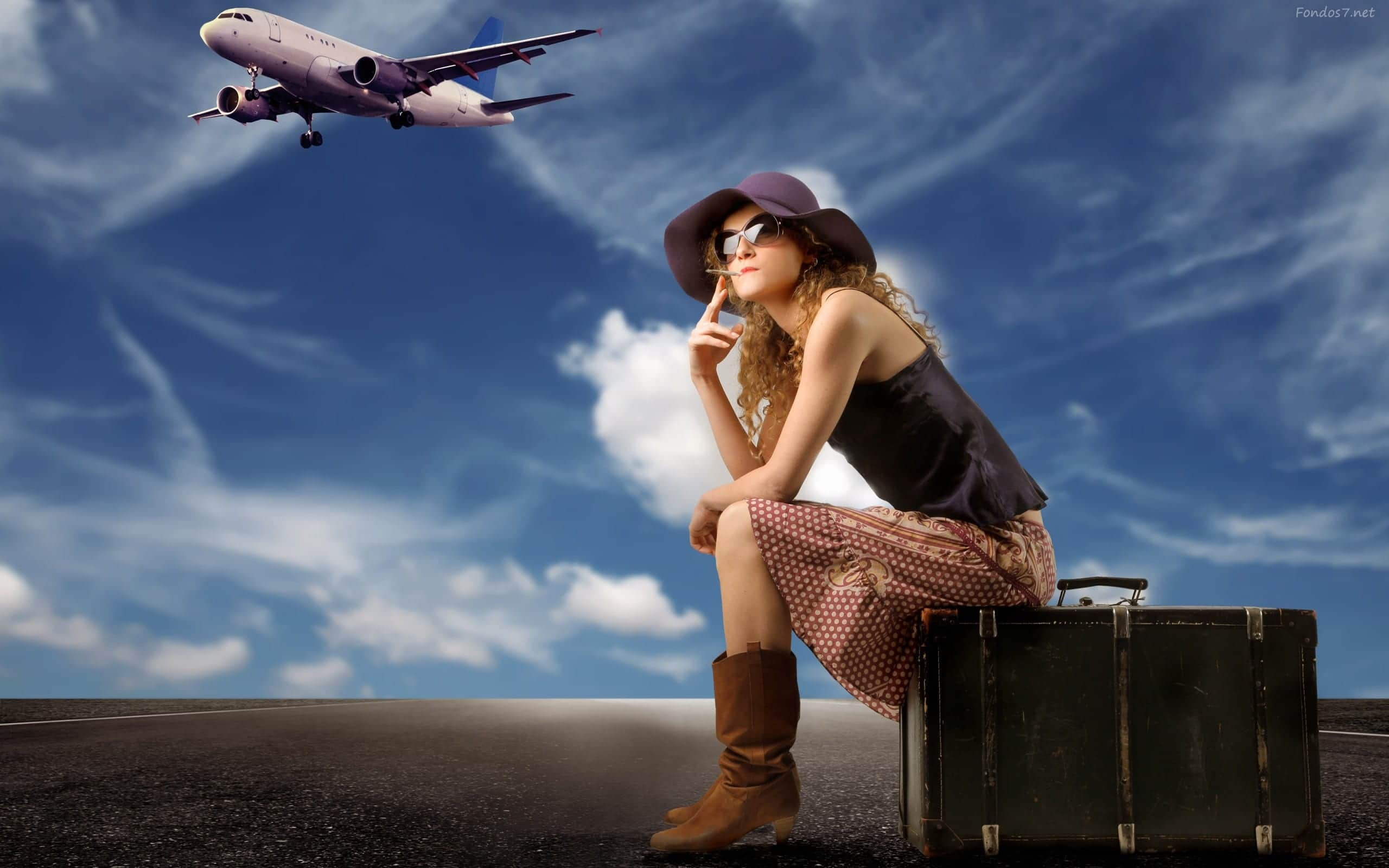 chica-viajes