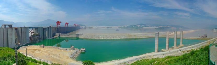 Construcción de la Represa Tres Gargantas