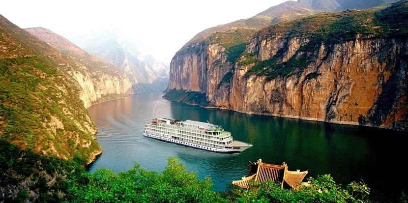 Crucero por el río Yangtzé
