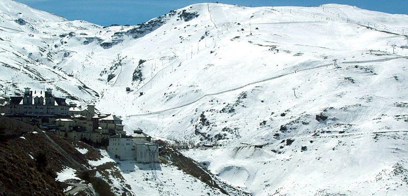 Estación de esquí España Sierra Nevada
