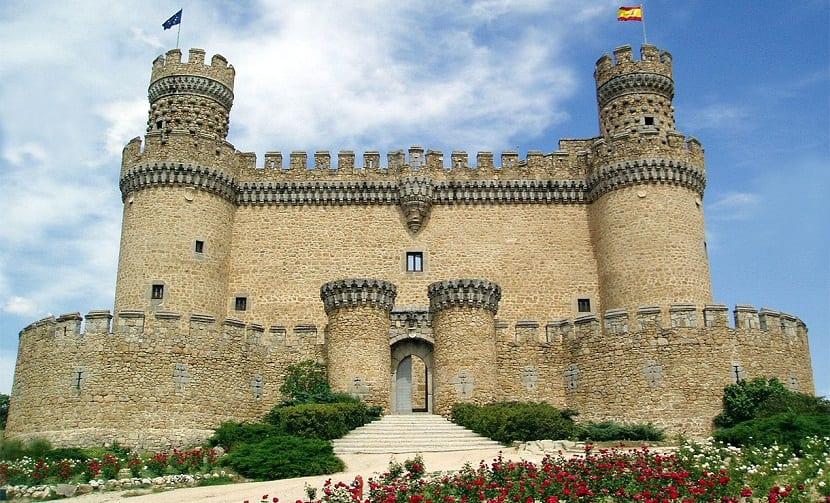 Madrid Castillo del Duque del Infantado de Manzanares El Real