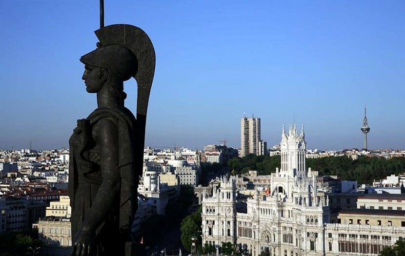 Madrid, vistas desde el Círculo de Bellas Artes
