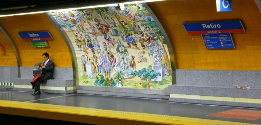 Metro Madrid Mingote