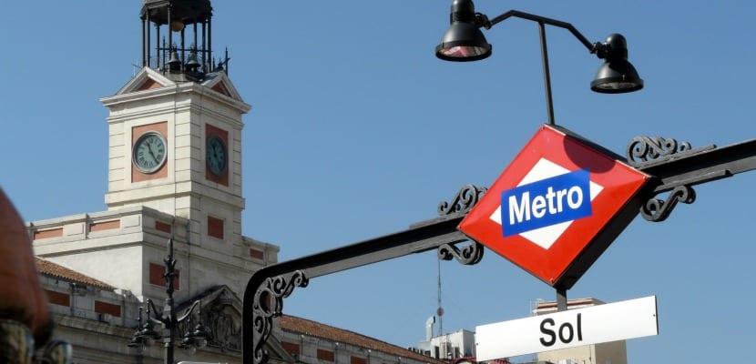 Sol Metro Madrid