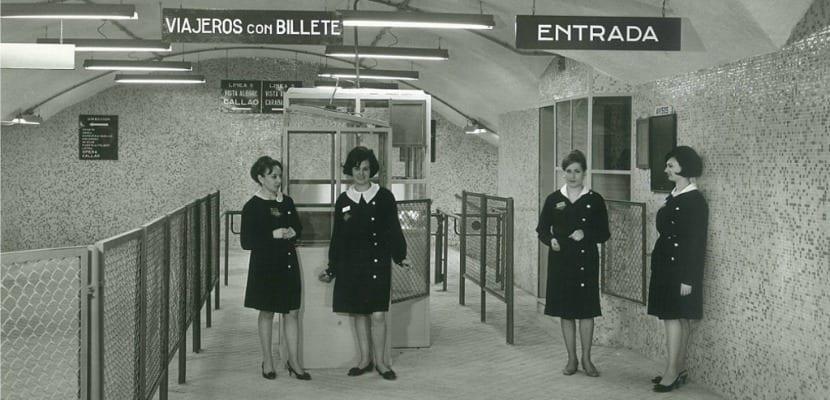 Taquillas Metro Madrid