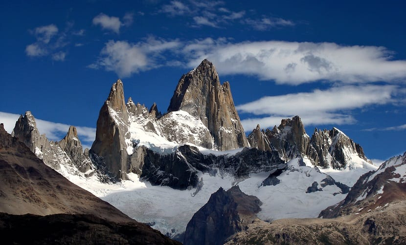 Montañas espectaculares Fitz Roy