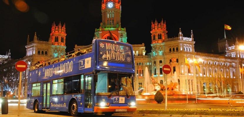 Bus Navidad Madrid