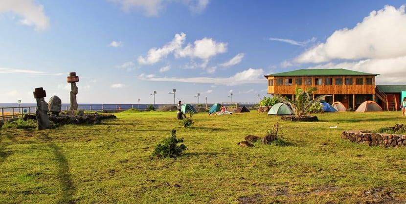 Camping en Rapa Nui