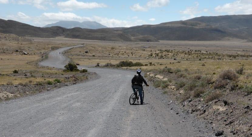 descenso por el volcán Cotopaxi