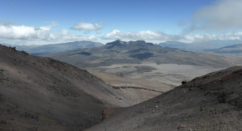 vistas al parque nacional Cotopaxi