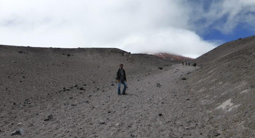 subida al refugio y volcán Cotopaxi
